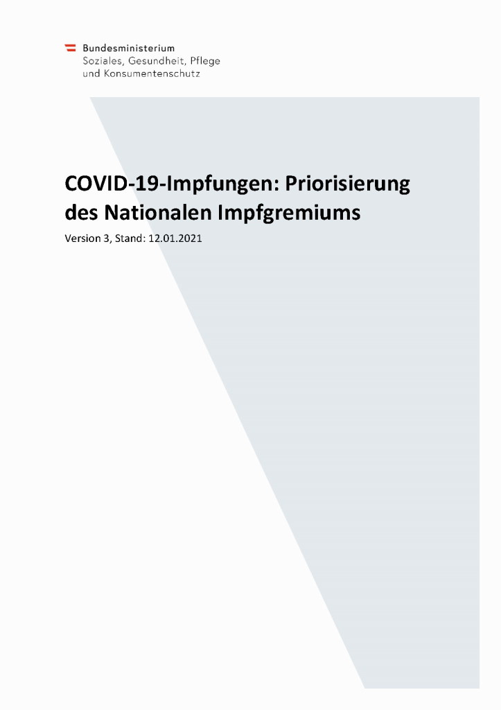 Nationaler Impfplan