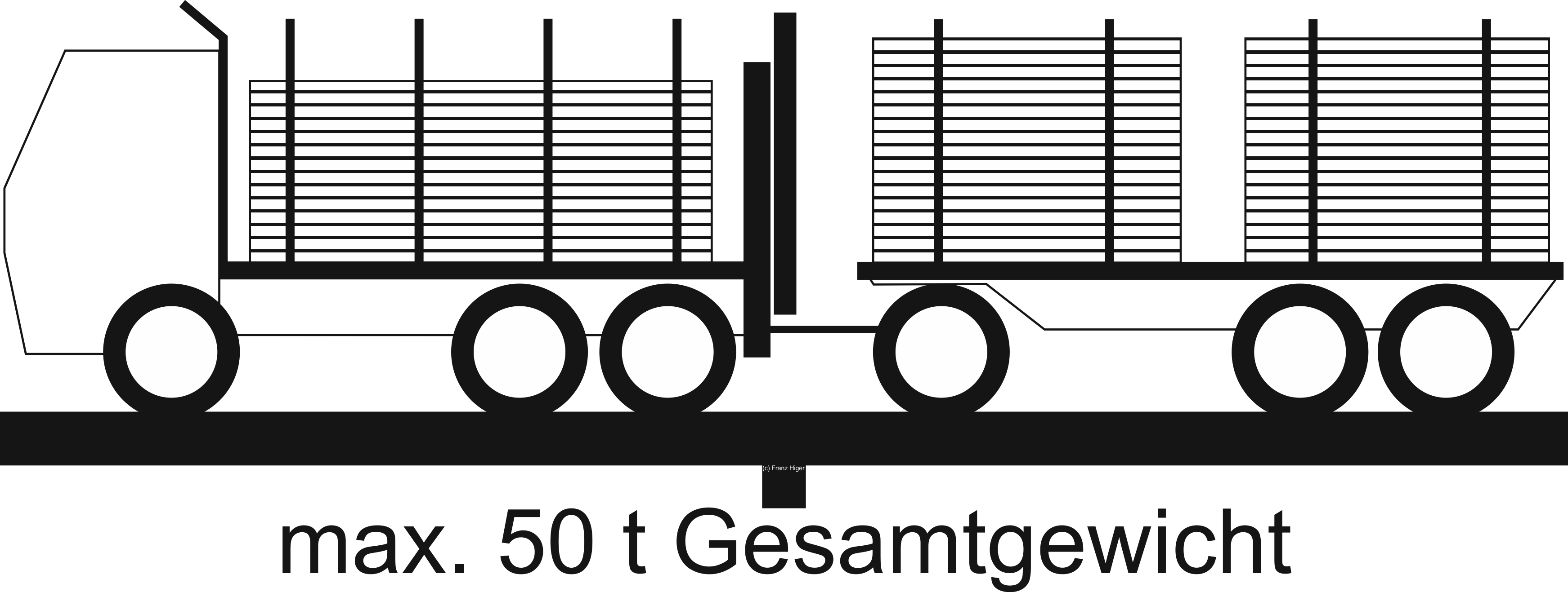Holztransporter 50t
